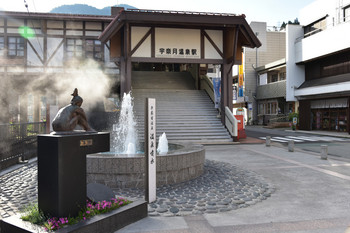 DSC_3631宇奈月駅前の噴水.JPG