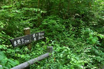 DSC_3910蛭ヶ岳まで8kの道標.JPG