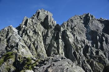 _DSC_0384北穂の登りの鎖場から山頂.JPG